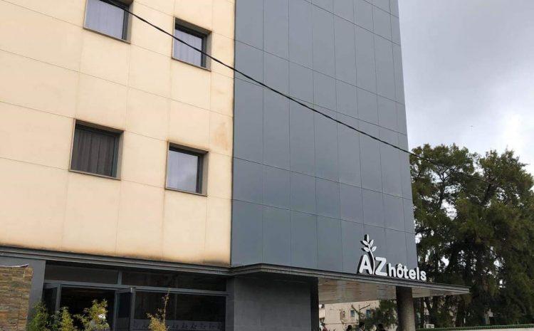 opération de désinfection et traitement de l'hôtel Mazafran