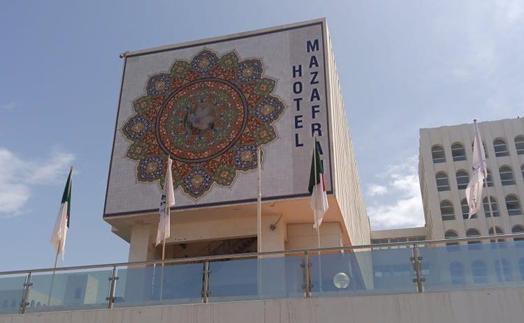 Une opération de désinfection a été effectuée en ce jour au niveau de l'hôtel Mazafran