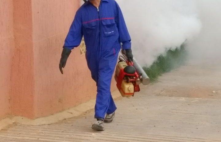 عمليات تطهير للاقبية ومكافحة البعوض والجرذان
