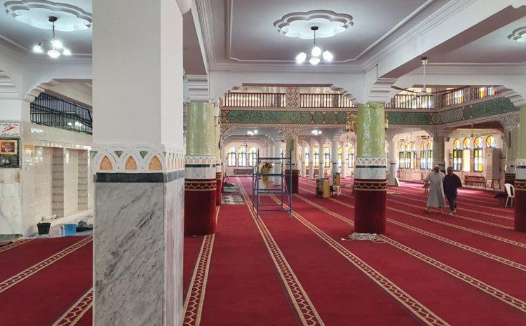 Opération de désinfection des mosquées des communes de la wilaya d'Alger 18/05/2020