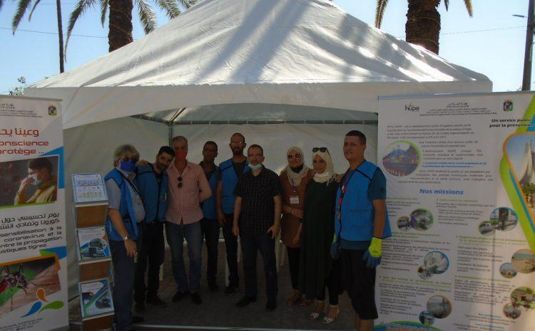 Journée de communication et de sensibilisation au niveau de la CA de Rouiba