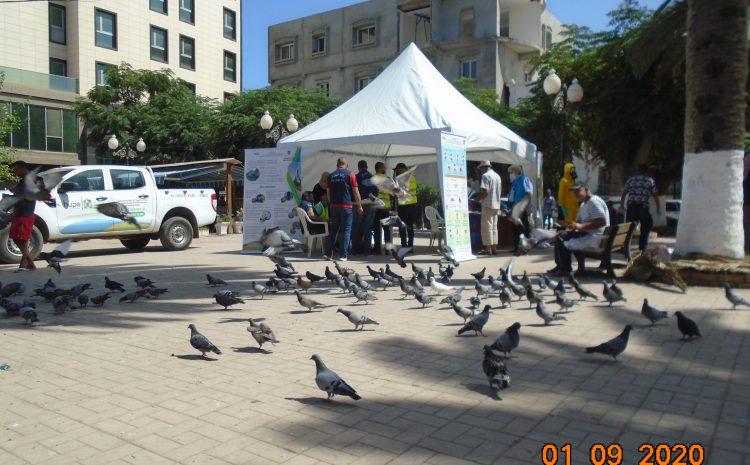 حملة تحسيسية على مستوى بلدية عين طاية يوم 01/09/2020