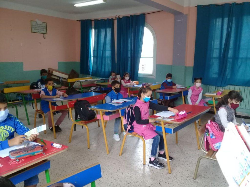 الحملات التحسيسية التوعوية على مستوى مدارس بلديات ولاية الجزائر