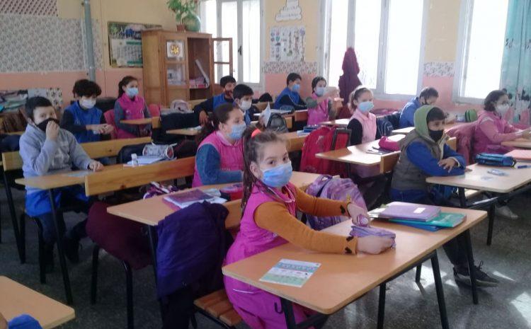 مواصلة البرنامج التحسيسي على مستوى المدارس الابتدائية لبلديات ولاية الجزائر