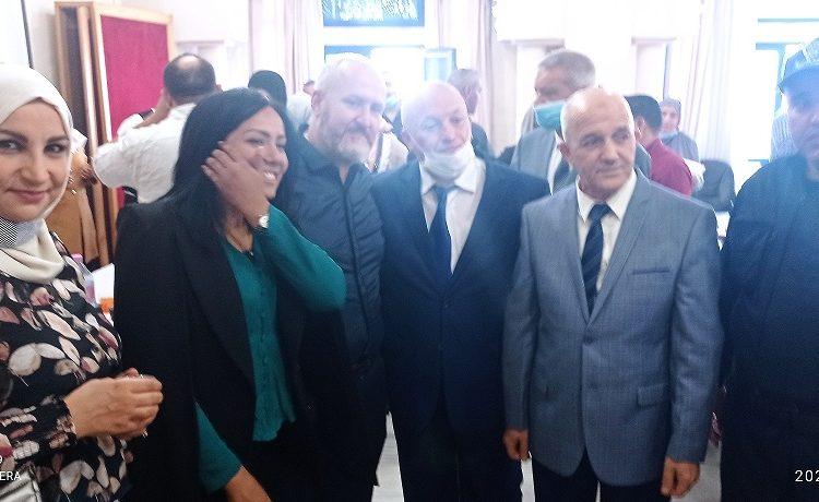 Réception du wali délégué de Bab el Oued a l'occasion de l'aid el fitr 16/05/2021