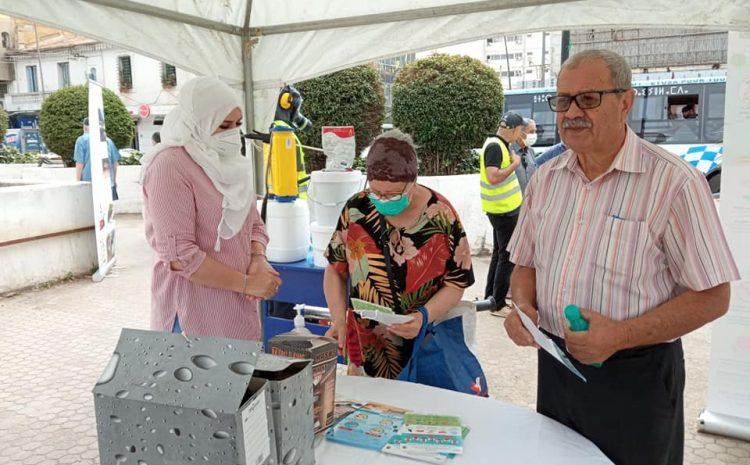 تواصل برنامج الحملات التحسيسيةحول باعوض النمر و الوقاية من فيروس كورونا